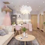 Thiết kế nội thất nhà chung cư nhà chị Đào Bắc Ninh