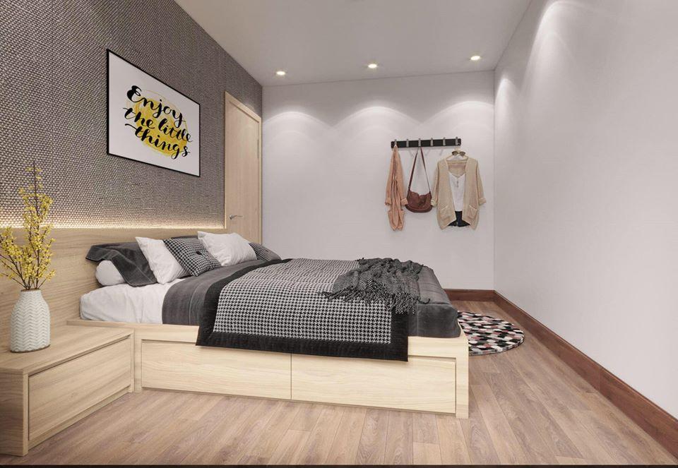 Nội thất phòng ngủ hiện đại và đơn giản