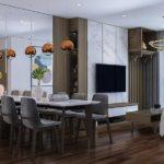Thiết kế nội thất chung cư tại Nhà anh Đức ở Bắc Giang