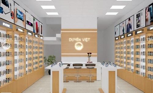 thiết kế shopđiện thoại tại Bắc Ninh