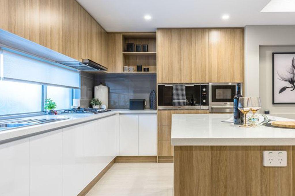 Nội thất gỗ công nghiệp phòng bếp