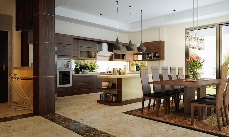 Nội thất chung cư Phòng bếp