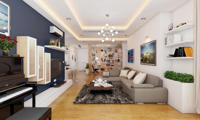 thi công nội thất chung cư tại Bắc Giang