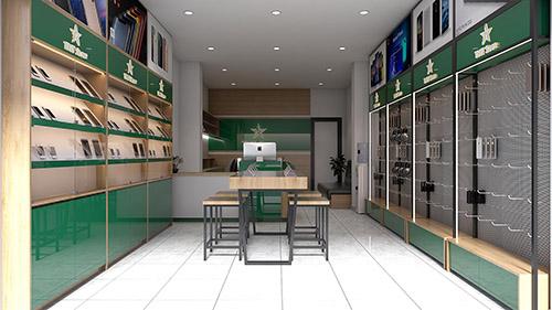Thiết kế shop điện thoại tại Bắc Giang