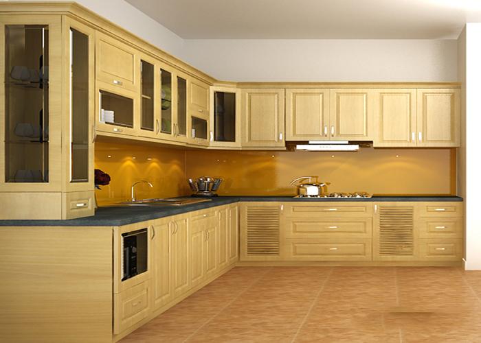 Tủ bếp hiện đại và đẹp