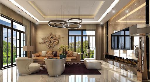 mẫu thiết kế nội thất phòng khách tuyệt đẹp