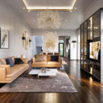 10 mẫu thiết kế phòng khách hiện đại cho người mệnh thổ