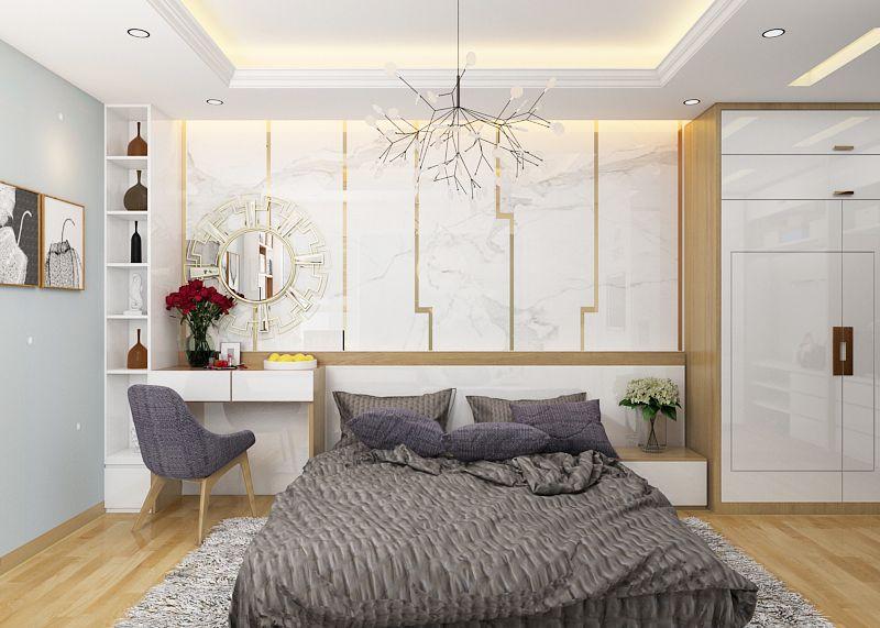 Thiết kế nội thất phòng ngủ theo phong cách đơn giản