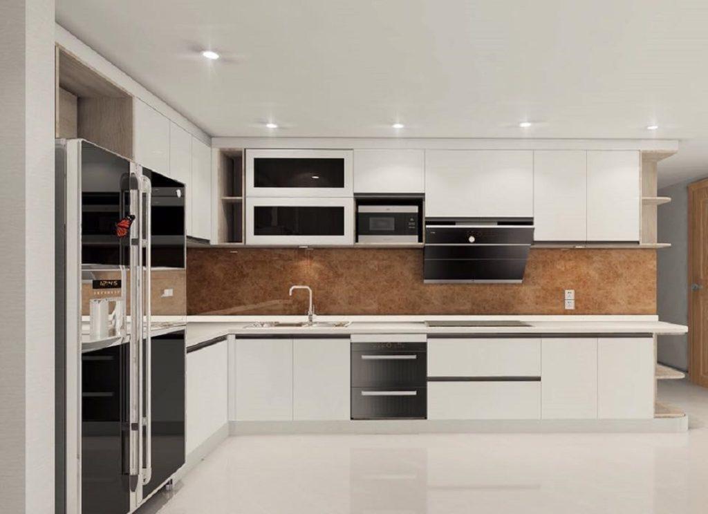 Thiết kế phòng bếp hiện đại và sang trọng