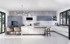 10 mẫu thiết kế phòng bếp hiện đại và sang trọng nhất