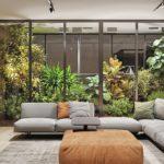 Mẫu thiết kế nội thất biệt thự hiện đại gần gũi với thiên nhiên