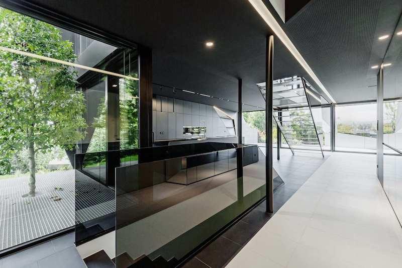 Mẫu thiết kế nội thất biệt thự gần gũi với thiên nhiên